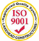 Lakehead Constructors, Inc. is Certified by ISO 9001